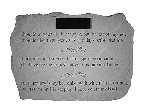 I-Thought-Of-You-With-Love-PERSONALIZED-Memorial-Stone-0