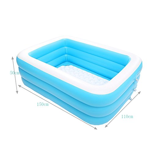 Inflatable-bathtub-TYCGY-Baby-Childrens-Non-slip-Swimming-Pool-Foldable-Large-Capacity-Plastic-Air-Bathtub-Fashionable-Adult-Children-Inflatable-Pumps-0-6