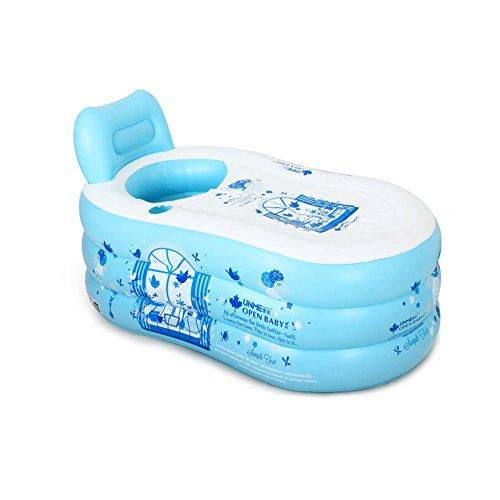 Inflatable-bathtub-TYCGY-Easy-Adult-Childrens-Bath-Home-Bath-Bath-Barrel-Plastic-Bath-Bucket-Folding-Large-Thickened-0