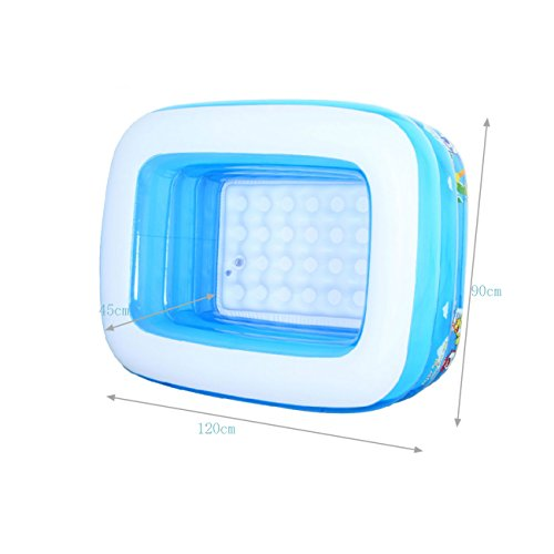 Inflatable-bathtub-TYCGY-High-capacity-Baby-Plastic-Mini-Air-Pool-Children-Large-Capacity-Folding-Shower-Tray-blue-0-0