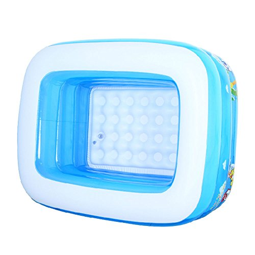 Inflatable-bathtub-TYCGY-High-capacity-Baby-Plastic-Mini-Air-Pool-Children-Large-Capacity-Folding-Shower-Tray-blue-0-2