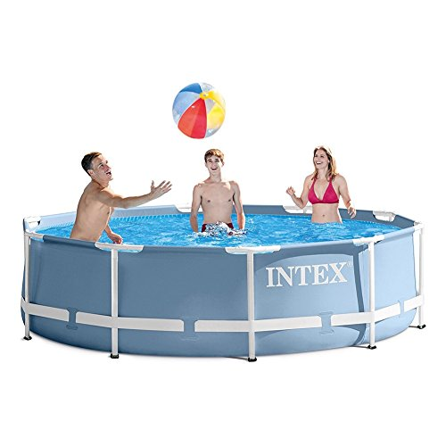 Intex-12ft-X-30in-Prism-Frame-Pool-Set-with-Filter-Pump-0