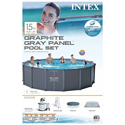 Intex-15-8-x-49-Graphite-Gray-Panel-Above-Ground-Swimming-Pool-Set-0-2