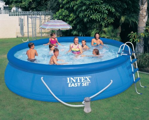 Intex-15-x-42-Easy-Set-Pool-with-1000-GPH-Pump-Kokido-Telsa-10-Pool-Vacuum-0-0