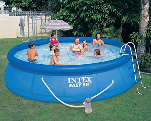 Intex-15-x-42-Easy-Set-Pool-with-1000-GPH-Pump-Kokido-Telsa-10-Pool-Vacuum-0-1