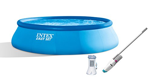 Intex-15-x-42-Easy-Set-Pool-with-1000-GPH-Pump-Kokido-Telsa-10-Pool-Vacuum-0