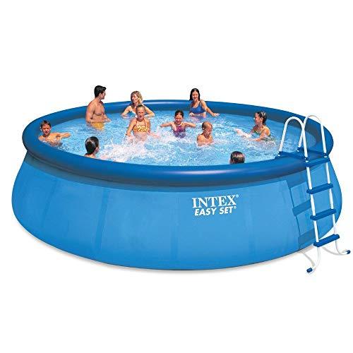 Intex-18-x-48-Easy-Set-Pool-with-Pump-Kokido-Telsa-10-Handheld-Vacuum-0-0