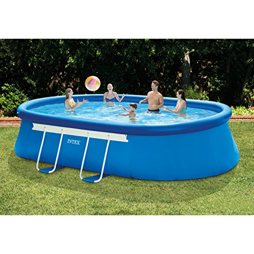 Intex-18ft-X-10ft-X-42in-Oval-Frame-Pool-Set-with-Filter-Pump-Ladder-Ground-Cloth-Pool-Cover-0-0