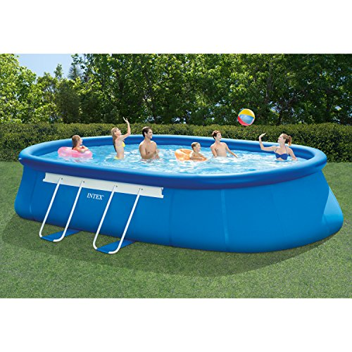 Intex-20ft-X-12ft-X-48in-Oval-Frame-Pool-Set-with-Filter-Pump-Ladder-Ground-Cloth-Pool-Cover-0-0