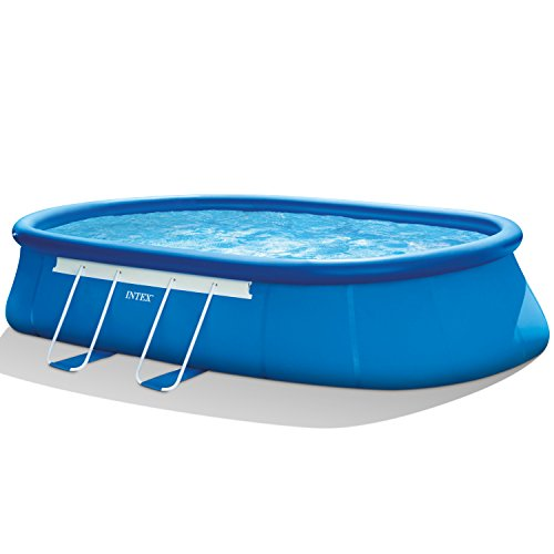 Intex-20ft-X-12ft-X-48in-Oval-Frame-Pool-Set-with-Filter-Pump-Ladder-Ground-Cloth-Pool-Cover-0