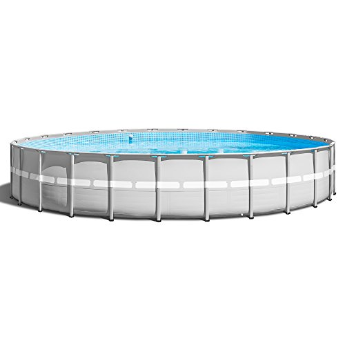 Intex-26-x-52-Ultra-Frame-Above-Ground-Swimming-Pool-Set-with-Pump-Ladder-0