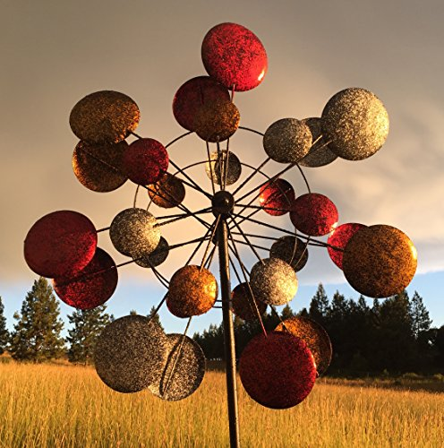 Jumbo-Modern-Art-Kinetic-Quadruple-Wind-Sculpture-Spinner-0-0