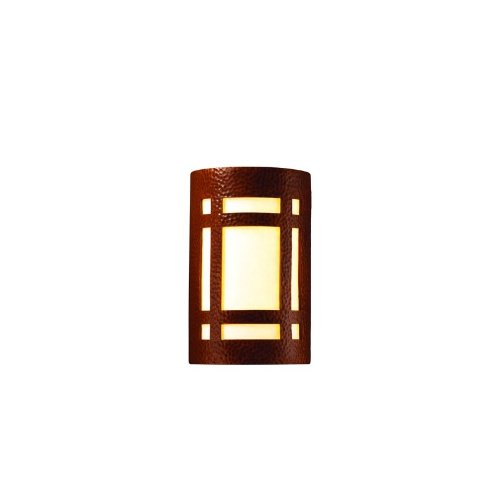 Justice-Design-Group-Ambiance-Collection-2-Light-Wall-Sconce-Hammered-Copper-Finish-0