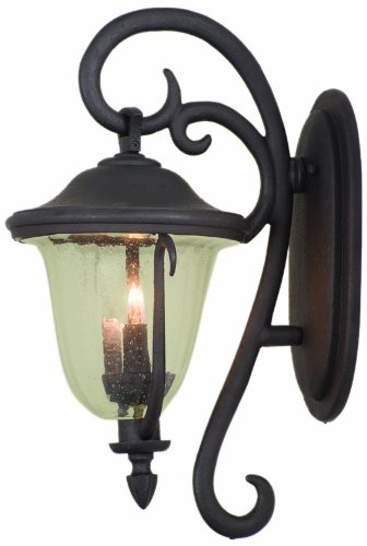Kalco-9001BB-Santa-Barbara-Outdoor-2-Light-Wall-Sconce-Bracket-Small-0