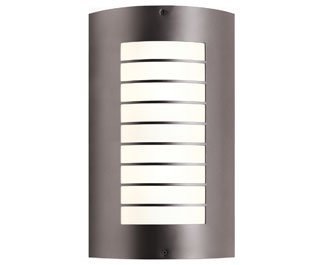Kichler-6048NI-Newport-Aluminum-Outdoor-Wall-Pocket-Sconce-Light-Fluorescent-Brushed-Nickel-0-0