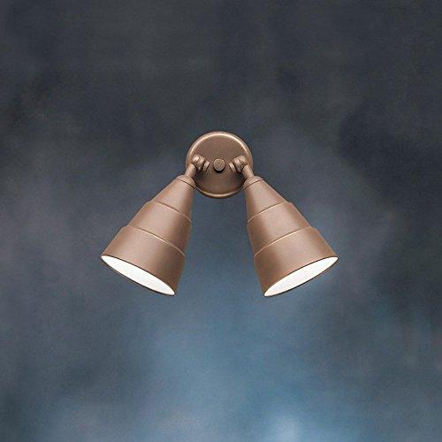 Kichler-Lighting-2-Light-Incandescent-Swivel-Outdoor-WallCeiling-Mount-0