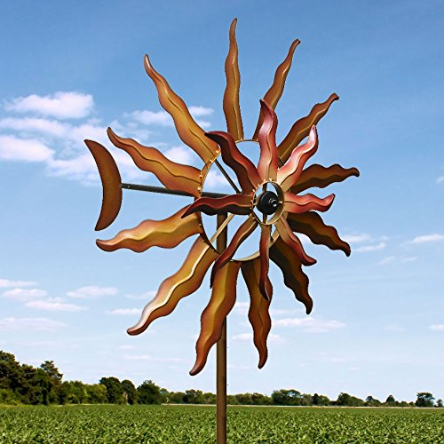 Kinetic-Windmill-Dual-Spinners-Sun-Sculpture-0