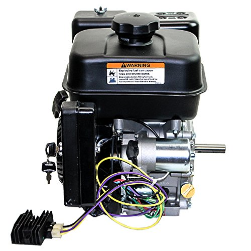 Kohler-65hp-Courage-Overhead-Valve-Horizontal-34×2-716-Shaft-Recoil-Electric-Start-10-Amp-Alternator-Cast-Iron-Bore-Low-Oil-Alert-Engine-0-0