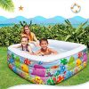 LZTET-Child-Inflatable-Pool-Family-Portable-Folding-Bath-Tub-Garden-Outdoor-Oversized-Swimming-Playing-Pool-Paddling-Pool-Aquatic-Creatures-Pattern-15915950cm-0-1