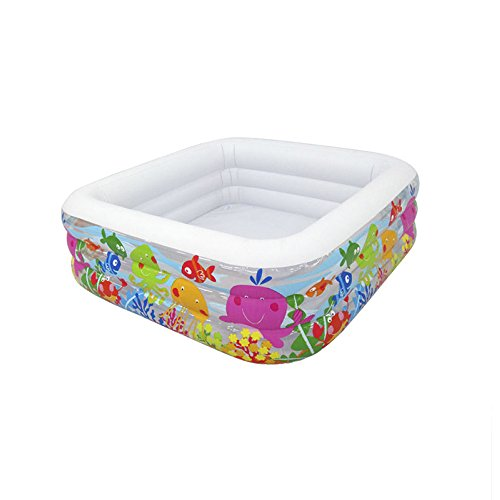 LZTET-Child-Inflatable-Pool-Family-Portable-Folding-Bath-Tub-Garden-Outdoor-Oversized-Swimming-Playing-Pool-Paddling-Pool-Aquatic-Creatures-Pattern-15915950cm-0