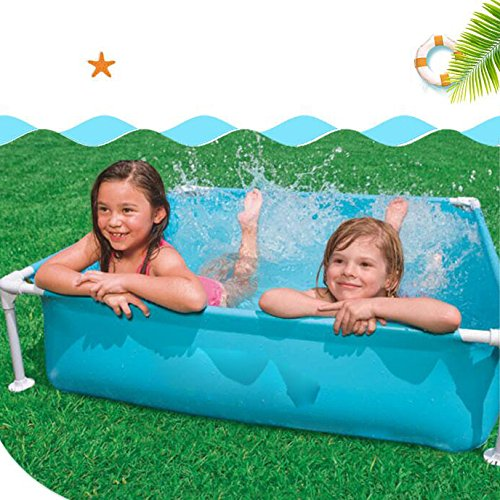 LZTET-Child-Inflatable-Pool-Family-Portable-Folding-Bath-Tub-Garden-Outdoor-Swimming-Playing-Pool-Paddling-Pool-12212230cm-0-1
