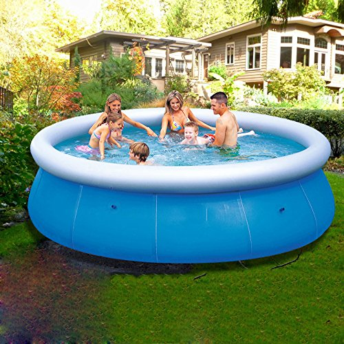 LZTET-Fast-Set-Round-Inflatable-Family-Pool-Circular-Folding-Bathtub-Garden-Outdoor-Swimming-Playing-Pool-Paddling-Pool-Blue-19851cm-0-0