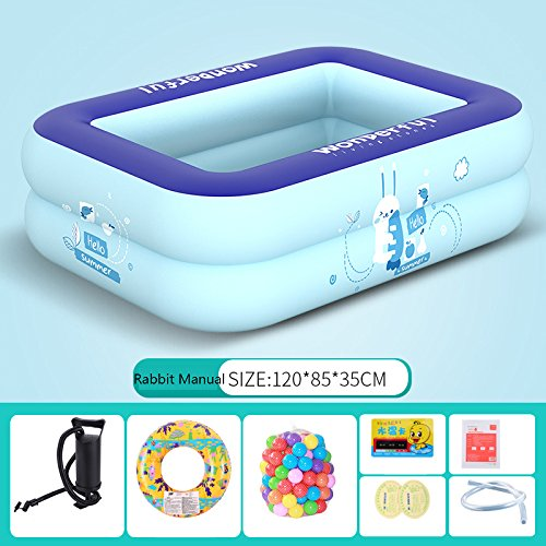 LZTET-Kids-Pool-Multi-layer-Inflatable-Bathtub-Garden-Outdoor-Thickened-Insulation-Swimming-Playing-Pool-Paddling-Pool-0-2