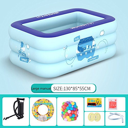 LZTET-Kids-Pool-Multi-layer-Inflatable-Bathtub-Garden-Outdoor-Thickened-Insulation-Swimming-Playing-Pool-Paddling-Pool-0-8