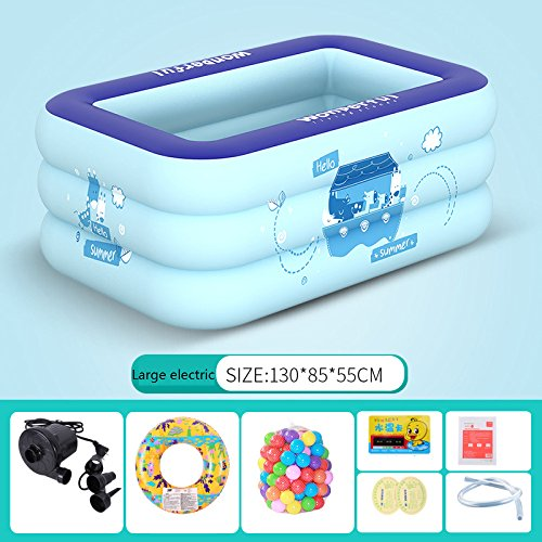 LZTET-Kids-Pool-Multi-layer-Inflatable-Bathtub-Garden-Outdoor-Thickened-Insulation-Swimming-Playing-Pool-Paddling-Pool-0-9