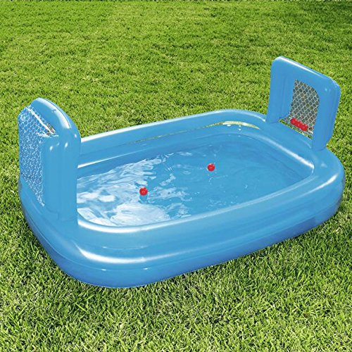 LZTET-Rectangular-Inflatable-Family-Pool-Folding-Bathtub-Garden-Outdoor-Oversized-Football-Recreational-Pool-Paddling-Pool-Crystal-Blue-2-Ring-23715294cm-0