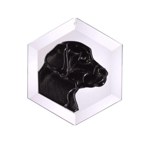 Labrador-Retriever-I-Black-Painted-Glass-Suncatcher-Ew-131B-0