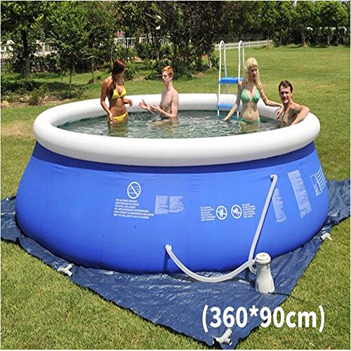 Large-Luxury-Inflatable-Family-Pool-Circular-Fast-Set-Round-Folding-Tub-Garden-Outdoor-Swimming-Playing-Pool-Paddling-Pool-Size-Optional-Sky-Blue-0-1