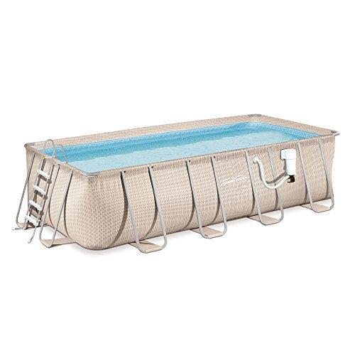 Light-Wicker-Pool-Package-9×18-Rect-Metal-Frame-52-Deep-Summer-Waves-NB2233-0-0