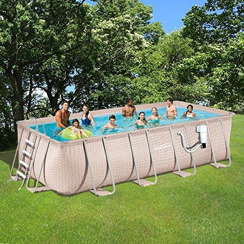 Light-Wicker-Pool-Package-9×18-Rect-Metal-Frame-52-Deep-Summer-Waves-NB2233-0