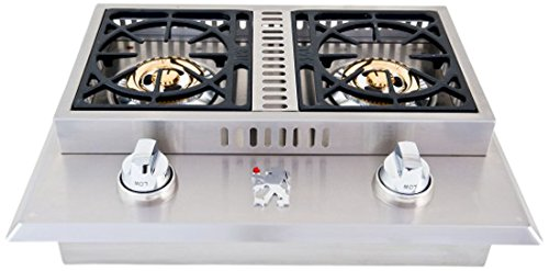 Lion-Premium-Grills-L1707-Propane-Gas-Double-Side-Burner-26-34-by-20-12-Inch-0