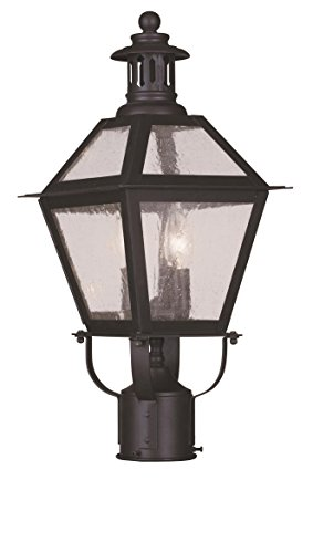 Livex-Lighting-2042-07-Waldwick-2-Light-Outdoor-Post-Head-Bronze-0