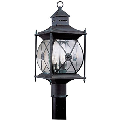 Livex-Providence-2094-61-Outdoor-Post-Lantern-1975H-in-Charcoal-0
