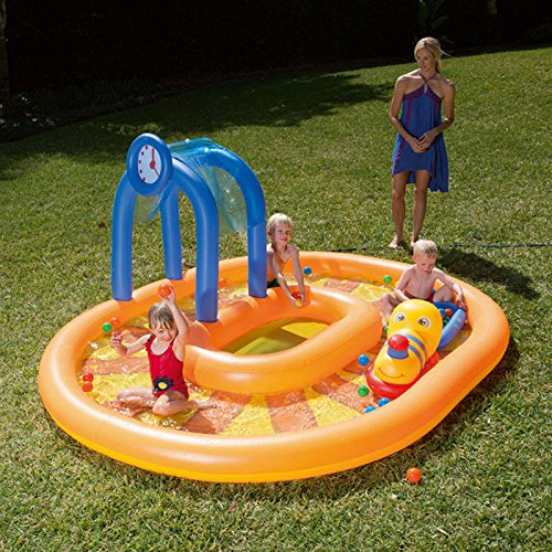 Longwei-Childrens-pool-Inflatable-ocean-Ball-Pool-baby-Paddling-pool-Thicken-Sand-pool-yellow-2-4-people-0-0