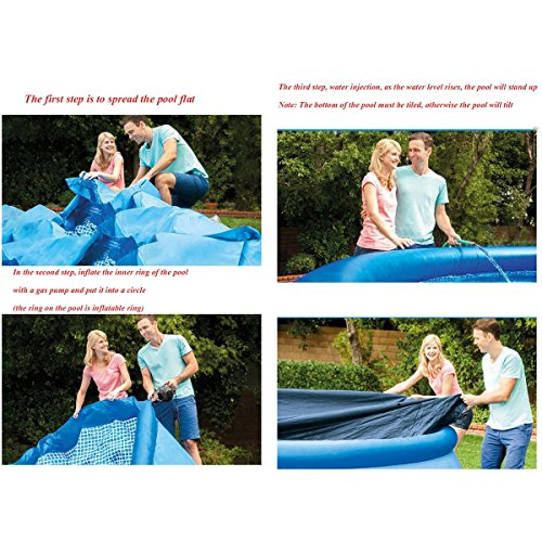 Longwei-swimming-pool-Thicken-Large-adult-Paddling-pool-family-child-swimming-pool-39684CM-Dish-shape-3-5-people-blue-0-1