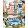 Longwei-swimming-pool-Thicken-Large-adult-Paddling-pool-family-child-swimming-pool-39684CM-Dish-shape-3-5-people-blue-0-2