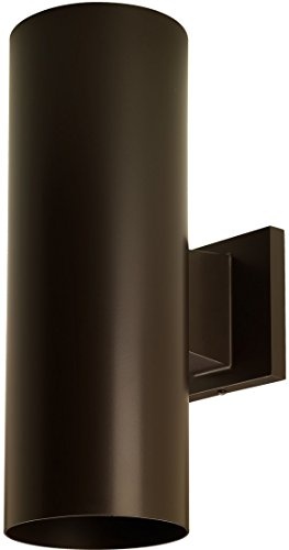 Luxury-Contemporary-Outdoor-Wall-Light-Medium-Size-14H-x-5W-with-Art-Deco-Style-Elements-Olde-Bronze-Finish-UHP1060-from-The-Hollywood-Collection-by-Urban-Ambiance-0