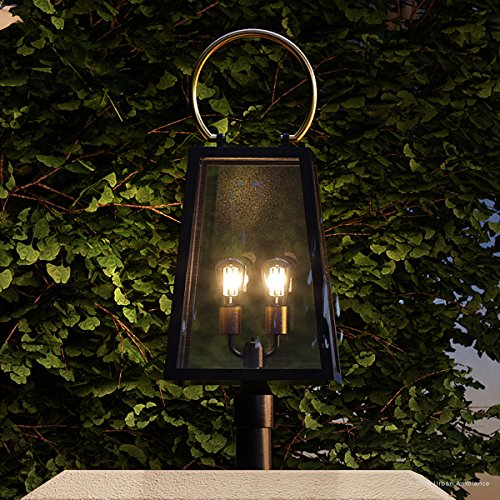 Luxury-Vintage-Outdoor-PostPier-Light-Large-Size-27H-x-1125W-with-Farmhouse-Style-Elements-Olde-Bronze-Finish-UHP1004-from-The-Vicenza-Collection-by-Urban-Ambiance-0-0