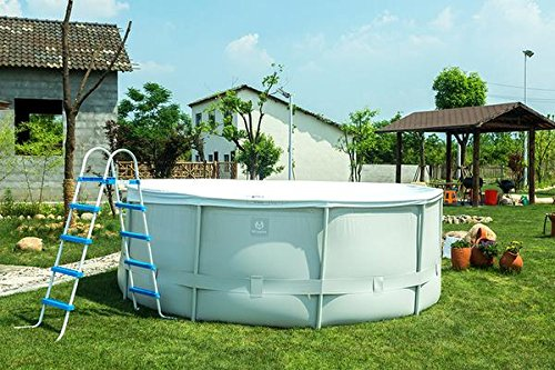 MCombo-121618-Round-Above-Ground-Family-Swimming-Pool-Steel-Frame-Fast-Set-Pool-wFilter-Pump-Ladder-0-0