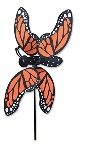 MONARCH-BUTTERFLY-Garden-Stake-Wind-Spinner-by-Premier-Designs-20-0
