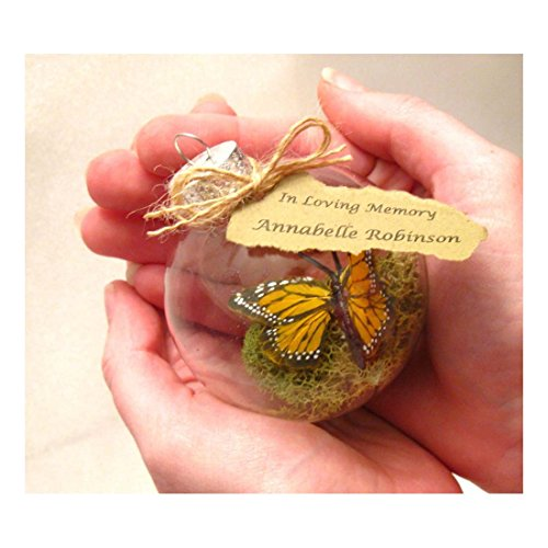 Monarch-Butterfly-Memorial-Christmas-Ornament-Clear-Glass-2-14-wide-0