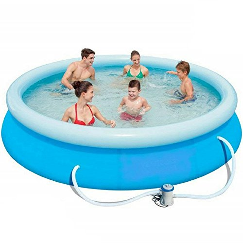 NAKSHOP-Inflatable-Swimming-Pool-For-Family-Easy-Set-Pump-Large-Above-Ground-For-Kids-And-eBook-By-0