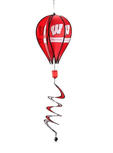 NCAA-Wisconsin-Badgers-Hot-Air-Balloon-Spinner-Novelty-11-x-11in-0