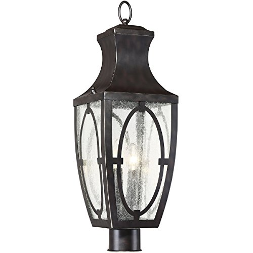 Outdoor-Post-2-Light-WEnglish-Bronze-with-Gold-Steel-Glass-B-8-inch-120-Watts-0