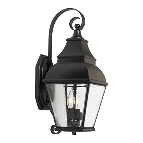 Outdoor-Wall-Lantern-Bristol-Collection-In-Solid-Brass-In-A-Charcoal-Finish-0