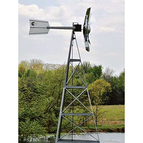 Outdoor-Water-Solutions-AWS0012-16-Feet-Galvanized-3-Legged-Aeration-System-Windmill-0-1